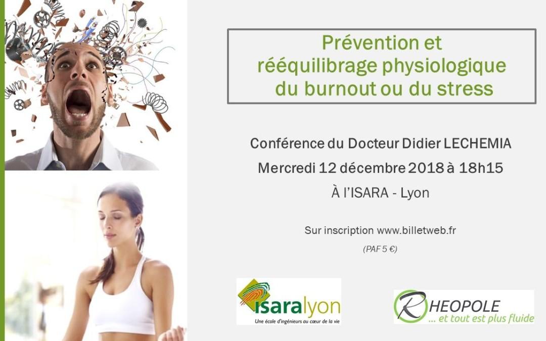 Prévention et rééquilibrage physiologique du burnout